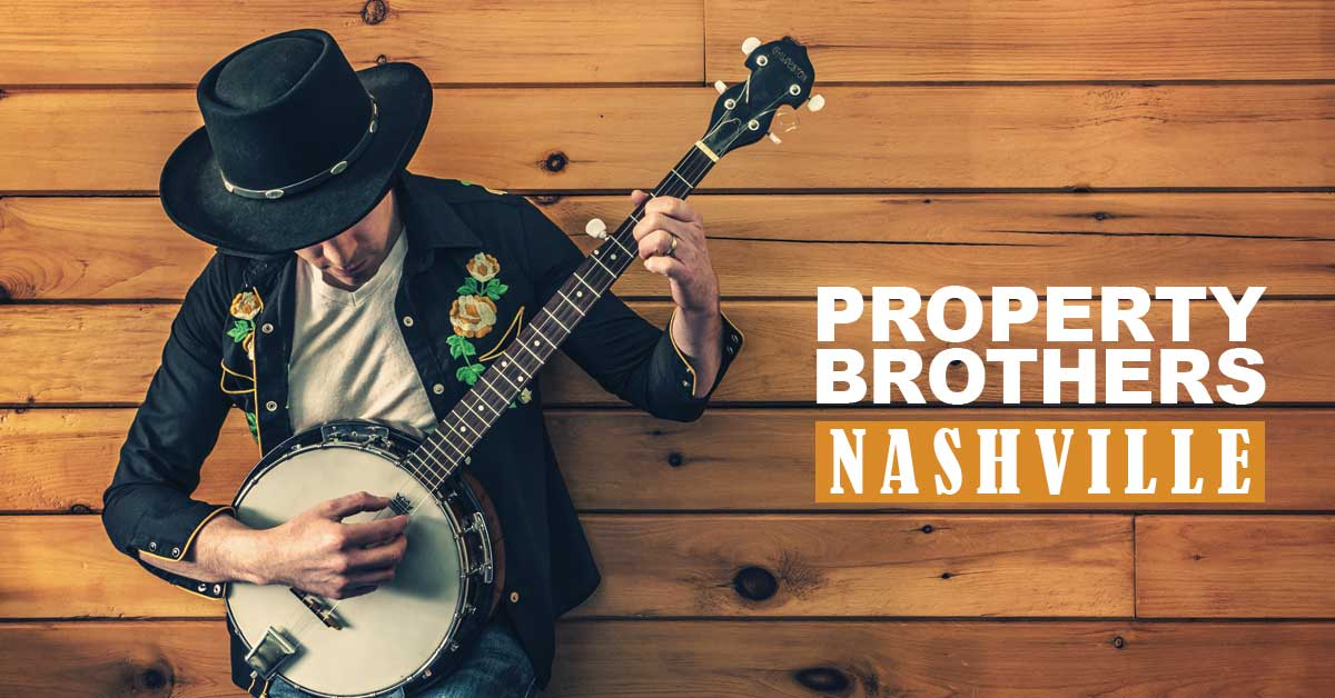 Picture of Property Brothers Nashville show graphic