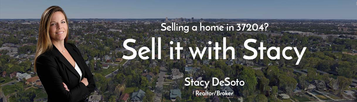 Picture of Stacy DeSoto, realtor and listing agent for people selling homes in 37204 area of Nashville