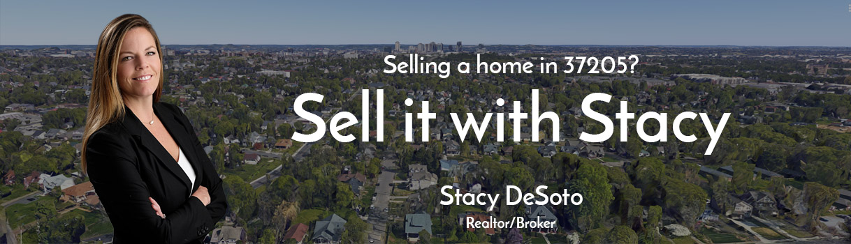 Picture of Stacy DeSoto, realtor and listing agent for people selling homes in 37205 area of Nashville