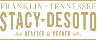 Stacy Desoto Franklin Tennessee Realtor Broker Logo